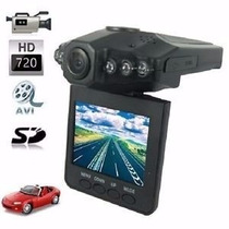 Kit 2 Câmera Filmadora Veicular Hd Visão Noturna E Visor Lcd