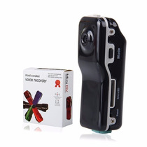 Mini Dv Filmadora Hd Camera Espia 5.0 Mp C/ Detector Movimen