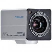 Câmera Profissional 1/4 30x Zoom 700 Tvl Nc970 Prata Neocam