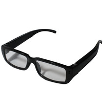 Óculos C/ Lentre Sem Grau Espião Filmadora Vídeo Som Fotos