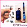 Mini Camera Filmadora Dv Ip Espiã Wifi Cctv Celular Completa