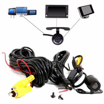 Kit Camera Traseira Para Carro 170° Night Vision Ccd Color