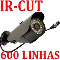 Camera Digital Infra Vermelho Led 600 Linhas + Ir Cut