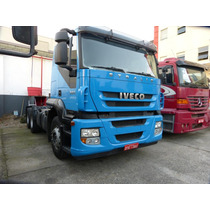 Iveco Stralis 380 420 6x2 Ano 2008 Baix Km / Fh 124 2540 400