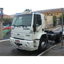 Ford Cargo 4432 2007 Semi Leito Com 283 Mil Km, Revisado!!