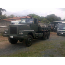 Caminhão Militar 6x6 Scania Terex 87 Eb Vw Mb Volvo Scania