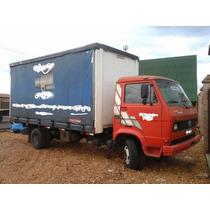 Caminhão Toco Wv 7-110 Saider (bau) Barato Único Dono.