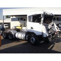 Scania G420 3 Eixos 2010 (batida)