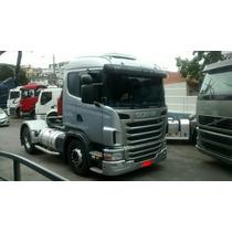 Scania 124 G 420 2010/10 Motor Feito Na Scania