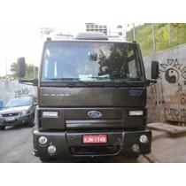 Troco Ford Cargo 1317 F Cummins 6cc Toco Baú De Alumínio 7m
