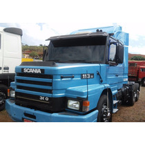 Pb Conjunto Cavalo Scania 113 360 97 Carreta Ls Randon 2005
