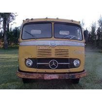 Caminhão Antigo Basculante Mercedes Benz Lpk 321, 1961/1961