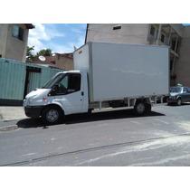 Caminhão/caminhonete Ford Transit Com Baú.