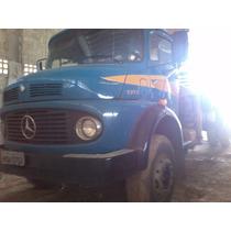 Caminhão Mercedes/13/ 13/toco Com Muk Ano 1985 Valor 59,000,