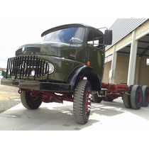 Mb 1213 6x6 1971 Traçado Militar 6x6 Com Km15,365