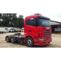 Scania 124 420,ano:2002,vermelho,traçado(bug-leve),ótimo Est
