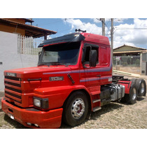 Scania 113 360 Top Line 8, Rodas De Alumínio, Carreta Randon