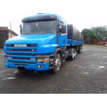 Conjunto Scania T124 360 Ano 2003 E Carreta Guerra