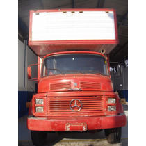 Mb 1313 Truck Baú 1981 Único Dono