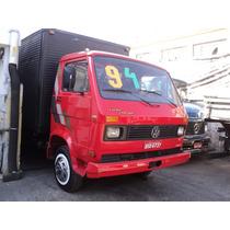 Vw 7110s Ano 1994 Turbo + Direção + Bau De 5 Metros Chapea