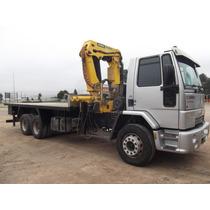 Caminhão Munck - Ford Cargo 2422e - Guindaste Madal Md 43607