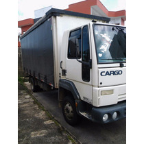 Ford Cargo 815e Ano 2006 Sider 5.5 Mts