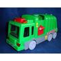 Caminhão De Reciclagem Usado Goldlok Toys Incompleto 38cm