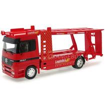 Caminhão Plataforma Mercedes Benz Actros Welly 32283vermelho