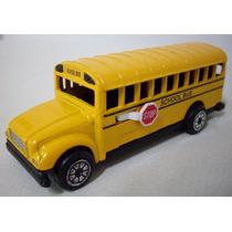 Ford Ônibus Escolar 1:64 School Bus Eua Mercedes Dodge Volvo