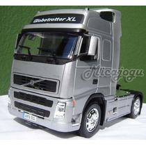 Promoção Volvo Fh12 Globetrotter 1/32 Welly Scania Mercedes