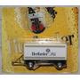 2-eixo Reboque Flatbed - Herforder Pils - 1:87 Ho 457