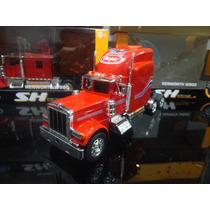 Miniatura Caminhão Peterbilt 379 1:32 Welly Vermelho