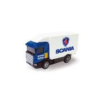 Guisval 1:87 Caminhão Baú Vuc Scania #10 Scania - Azul