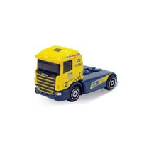 Guisval 1:87 Racing Trucks - Scania #02 Elf - Amarelo