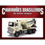 Caminhões Brasileiros De Outros Tempo Scania Lks140 Concreto