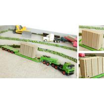 Container Madeira Carga Especial Ho 1/87 Hbm310 Maquete