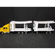 Caminhão Carreta Cegonha Transcar Comp61cm Larg08cm