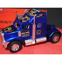 Caminhão Só Cavalo Azul Comp.24cm Larg.08cm Alt.12cm