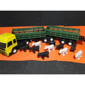 Caminhão Bi-trem Boiadeiro 7 Eixos 61cm Comprim 09cm Larg