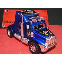 Caminhão Quinta Roda Comp=24cm Larg=08cm Alt=12cm
