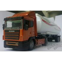 Scania Top Line Tanque 1/43 New Ray Volvo Caminhão Carreta