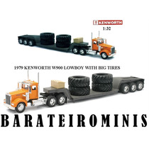 1:32 Caminhão Kenworth W900 - With Big Tires - New Ray