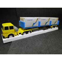 Carreta Container 1/32 Truck Comp.51cm Larg.08cm Alt.09