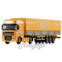 Caminhão Baú Graneleiro 1/50 Kdw Kaidiwei Metal Scania Volvo