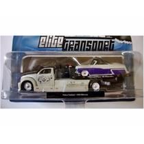Caminhão Prancha C/ Ford Mercury 1950 Elite Tran 1:64 Maisto