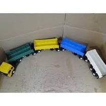 Supér Colorido Caminhão Carreta Bitrem Tritrem Brinquedo