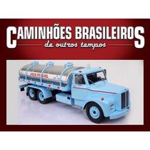 Caminhões Brasileiros De Outros Tempos Scania Lbs 85 S Água