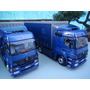 Caminhão Mercedez-bens Axor 1840 1:43 C/carreta Minichamps