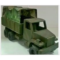 Caminhão Do Exército 42cm Caminhão Madeira Brinquedo Militar