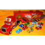 Carreta Mack E 10 Carrinhos Do Filme Cars 50cm Pronta Entreg